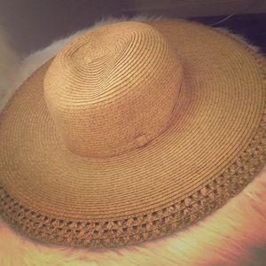 Oversized boho sun hat